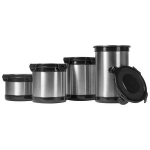 Other - 4pc (2,3,4 &5) Stainless Steel Storage Containers
